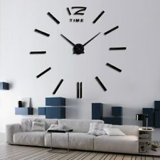 Wall Clock Watch New Style DIY Horloge 3D Acrylic Mirror Sticker Living Room