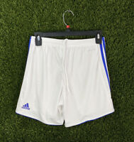adidas Womens ClimaCool Shorts Soccer Tastigo 17 White Blue XS ( BJ9161 )