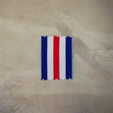FRANCE AND GERMANY STAR MEDAL RIBBON - 1 x METER | REPLACEMENT | WWII | ARMY