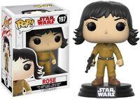 FUNKO POP! STAR WARS: The Last Jedi - Rose [New Toy] Vinyl Figure