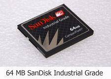 64MB SanDisk CompactFlash CF Memory Card SDCFB-64 Industrial Grade Wholesale