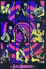 Jimi Hendrix Pop Art Collage Poster 24 X 36