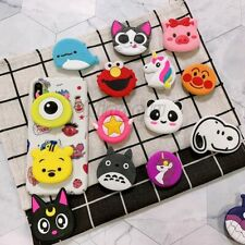 Lot Socket Universal Phone Holder Expanding Mobile Finger Ring Stand Grip 3D Cat