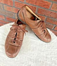 e29308e04abe Coach Lace Up Brown Leather Shoes Size 12 Soft Casual Meyer Walking Sneakers