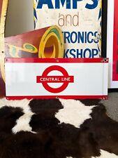 Original, vintage London Underground - Central Line - enamel sign. 1970's. RARE!