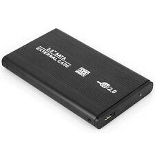 "External Case Hard Drive HDD Mobile Disk Box USB2.0 Portable Laptop SATA 2.5"""