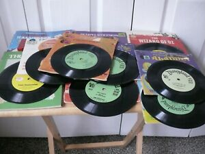 Storybooks on Records and Cassette--Bambi, It's a Small Work, Sleeping Beauty,
