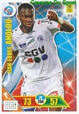 312 JEAN-EUDES AHOLOU RC.STRASBOURG CARTE CARD ADRENALYN LIGUE 1 2018 PANINI