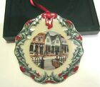 Longaberger Collector's Club Christmas Ornament 1998 Shopping on Main Street