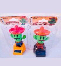 Solar Power Dancing Toys Solar Green Mexican Cactus Hello Summer Hot Fast Ship