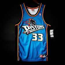 100% Authentic Grant Hill Detroit Pistons NBA Nike Jersey Size 40 M NWT