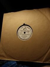 78 RPM 10 INCH PHONOGRAPH RECORD