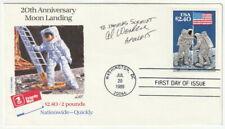 Al Stato - Orig. Autografo, Apollo 15, Busta Primo Giorno, Nasa, Firmato, FDC