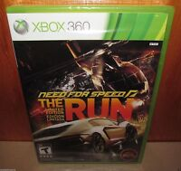 BRAND NEW SEALED Need for Speed: The Run Limited Edition LE XBOX 360 EA