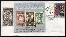 1965 - 7° Centenario della nascita di Dante Alighieri - Busta commemorativa
