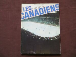 Nov. 2nd 1977 Montreal Canadiens vs Atlanta Flames Official Program Hockey NHL