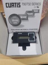 Panel Mount LCD hr meter run time 701 Hour Counter Meter Module 12-48vdc