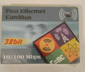 CardBus 10/100mbps Ethernet PC Card