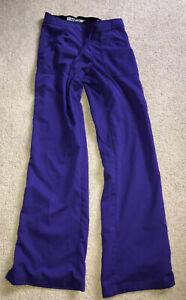 Greys Anatomy Purple Medical Scrub Pants Size XXS