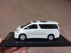 Toyota Alphard Vellfire V6 White 1/43 Scale Resin Model Car New in Box