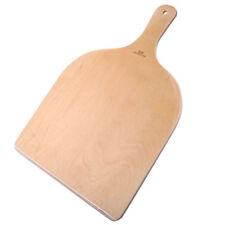 2x Birchwood Wood Pizza Peel Shovel Paddle Pancake Oven Baking Wood Handle Tray