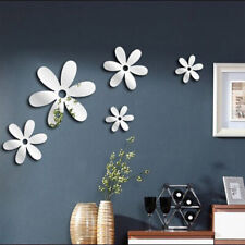 1Set Removable Wall Stickers Acrylic Self-adhesive Mirror Home Decors UK