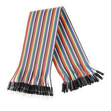 120 pcs Dupont Cables M-F, M-M, F-F Jumper Wire GPIO Pi Arduino Breadboard ZH