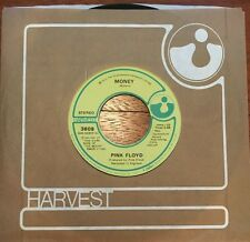 """Pink Floyd - Money / Any Color You Like - 7"""" VG Dark Side of the Moon"""