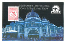 Australia-$10 Imperf Kangaroo min sheet Coin & Banknote show(4081)2013