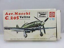Super Model AER. MACCHI C.205 VELTRO 1/72 Scale Plastic Model Kit UNBUILT