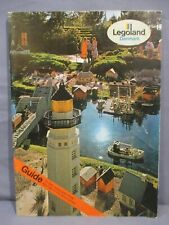 THE GUIDE TO LEGOLAND PARK Lego Book Danmark 1982 vintage