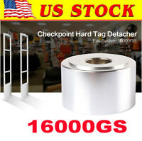 16000GS Super magnetic EAS sensor tag tool for supermarket, Silver [US in STOCK]