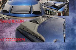 Sides hood scoop for Hummer H3, H3t