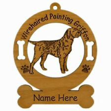 Wirehaired Pointing Griffon Dog Ornament Personalized With Your Dogs Name 4245