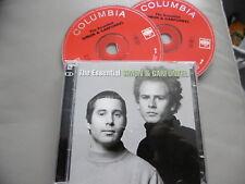 SIMON & GARFUNKEL : THE ESSENTIAL 2 CD 40 TRACKS SILENCE BOXER CECELIA AMERICA