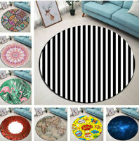 Abstract Mandala Starry Sky Living Room Floor Mat Yoga Area Rugs Bedroom Carpet