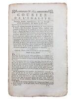 Ermenonville en 1794 JJ Rousseau Panthéon Castres Saint Flour Pache Robespierre