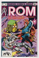 Rom #41 (Apr 1983, Marvel) Spaceknight [Dr. Strange] Bill Mantlo Sal Buscema X