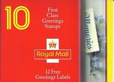1992 Memories GB Stamps booklet 10 x first class stamps Unmounted mint (2729)