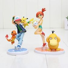 2 pz/set Ash Ketchum Pikachu Charmander Misty Kasumi Psyduck Togepi pokemon
