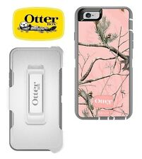 Otterbox Defender Series Case & Belt Clip Holster For iPhone 6S 6 RealTree Pink