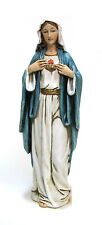 Statue Mary Immaculate Heart 6 inch Painted Resin Joseph Studio Saint Catholic