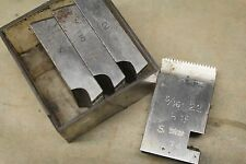 """Alfred Herbert 3/8"""" x 20 Tpi BSF Coventry Die Chasers For 1"""" Head CD375"""