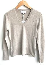 NWT Medium Eric Bompard Brown Cashmere Poncho