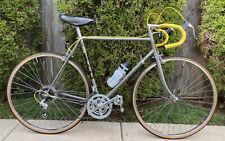 Vintage 1983 Trek 520 22.5 in. Bicycle Reynolds 501 Chromalloy 18-speed Bike
