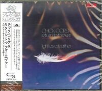 CHICK COREA & RETURN TO FOREVER-LIGHT AS A FEATHER-JAPAN SHM-CD C94