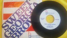 Brother Bones – Sweet Georgia Brown / Bye Bye Blues ~ (VG+)