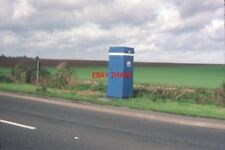 PHOTO  1983 AN RAC TELEPHONE BOX NEAR SAXONDALE SITUATED ON THE A52 ROAD WEST OF