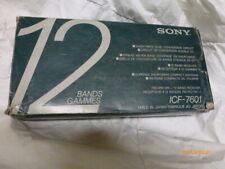 Sony ICF-7601  FM/MW/SW Weltempfänger