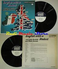 LP ENGLISH WITH A DIALECT irish scottish accents 1971 england BBC cd mc dvd vhs